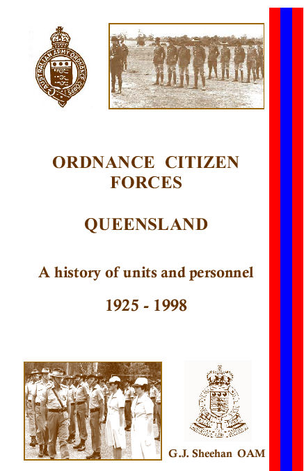 Ordnance Citizen Forces Queensland
